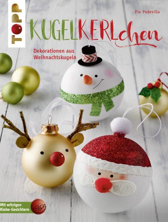 Kugelkerlchen dekorationen und geschenke aus weihnachtskugeln - Weihnachtskugeln selbst gestalten ...