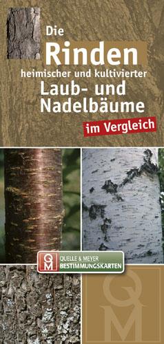 Die Rinden heimischer und kultivierter Laub- und Nadelbäume, Bestimmungskarte