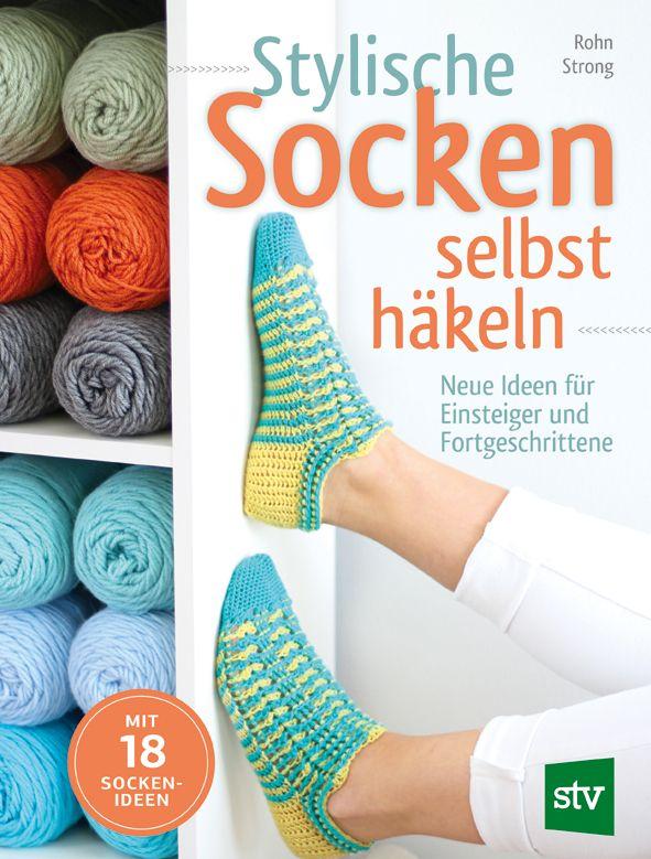 Stylische Socken Selbst Häkeln Rohn Strong Stocker Verlag