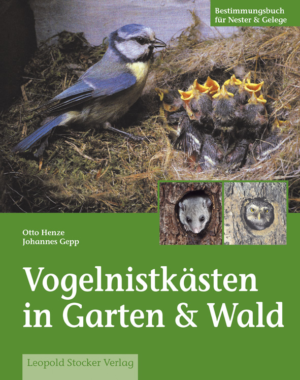 Vogelnistkästen in Garten & Wald