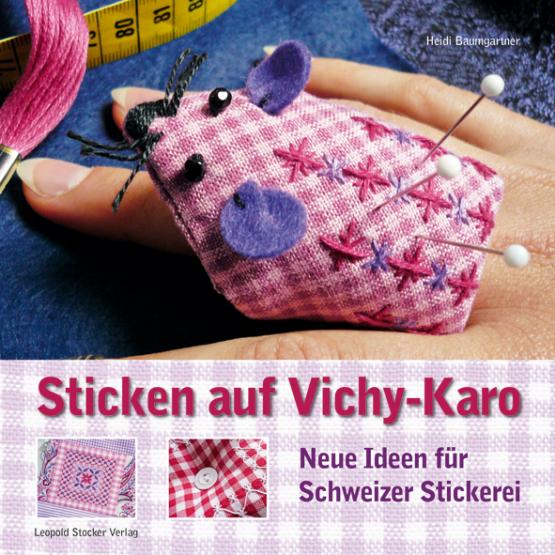 Sticken auf Vichy-Karo