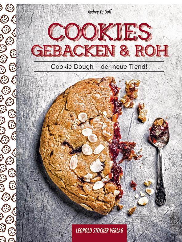 Cookies gebacken & roh